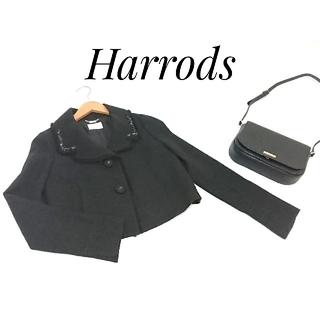 ハロッズ(Harrods)のHarrods ハロッズ  ジャケット ブラック レディース(テーラードジャケット)