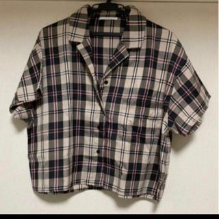 レトロガール(RETRO GIRL)のチェックシャツ(Tシャツ(半袖/袖なし))