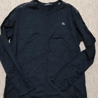 バーバリーブラックレーベル(BURBERRY BLACK LABEL)の美品バーバリーブラックレーベル長袖TシャツL(Tシャツ/カットソー(七分/長袖))