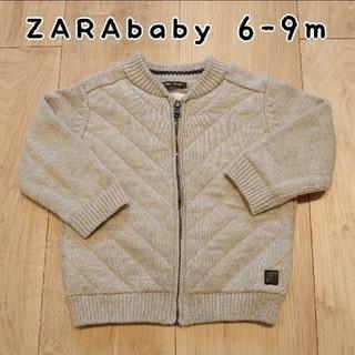 ZARA KIDS - zarababy6-9mニットブルゾン