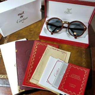 Cartier - Cartier カルティエ CABRIOLET ヴィンテージ サングラス