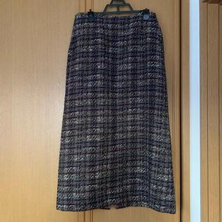 ドアーズ(DOORS / URBAN RESEARCH)のアーバンリサーチドアーズ ツイードチェックスカート(ロングスカート)