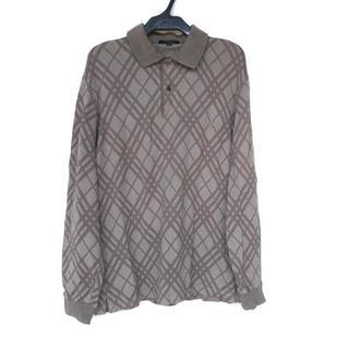 バーバリー(BURBERRY)のバーバリーロンドン 長袖ポロシャツ M(ポロシャツ)