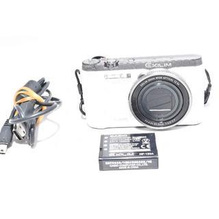 カシオ(CASIO)のCASIO EXILIM デジタルカメラ ハイスピード 快適シャッターホワイト (コンパクトデジタルカメラ)