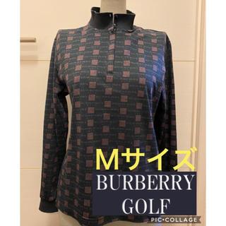 バーバリー(BURBERRY)のBurberry GOLF バーバリー ゴルフ 長袖 ウェア Mサイズ(ウエア)