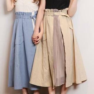 ダズリン(dazzlin)のdazzlin チノラップスカート(ひざ丈スカート)