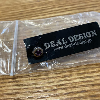 ディールデザイン(DEAL DESIGN)のDEAL DESIGN/ディールデザインcut stone◆ (ピアス(片耳用))