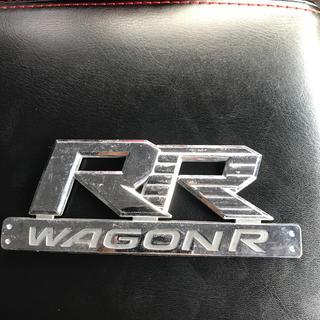 スズキ(スズキ)のワゴンR RR エンブレム MH21(車外アクセサリ)