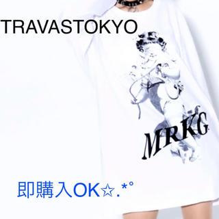 ミルクボーイ(MILKBOY)の限定 TRAVAS TOKYO【トラヴァストーキョー】天使 プリントビッグロンT(Tシャツ(長袖/七分))