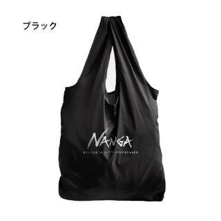 ナンガ(NANGA)の【新品】NANGA ナンガ エコバッグ BLK(ブラック)(エコバッグ)