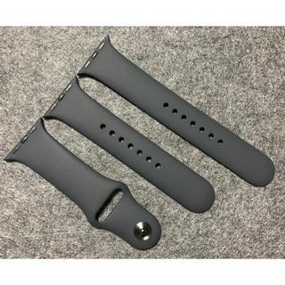アップルウォッチ(Apple Watch)の【未使用品】Apple Watch スポーツベルト ブラック 38/40mm(その他)