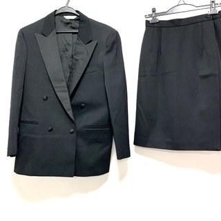 ニューヨーカー(NEWYORKER)のニューヨーカー スカートスーツ 11AR M 黒(スーツ)