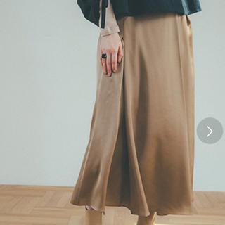 ステュディオス(STUDIOUS)のCLANE   グロスカラーマーメイドスカート(ロングスカート)