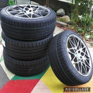 ビーエムダブリュー(BMW)のBMW 5シリーズ 6シリーズ X3 F10 F11 F12 F13 E83 (タイヤ・ホイールセット)
