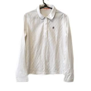 カステルバジャック(CASTELBAJAC)のカステルバジャック 長袖ポロシャツ 1 S 白(ポロシャツ)