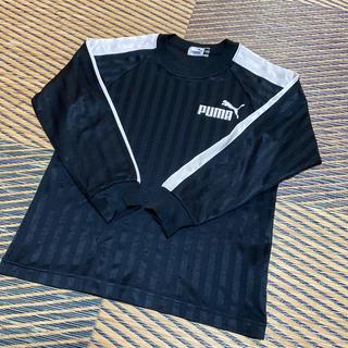 PUMA - プーマ プラクティスシャツ長袖 130 サッカー フットサル