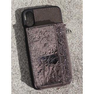 ムルーア(MURUA)のMURUA iPhoneケース シルバー X XS 箱あり(iPhoneケース)