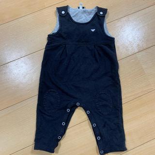 アルマーニ ジュニア(ARMANI JUNIOR)のアルマーニ ベビー ARMANI BABY サロペット 子供服(ロンパース)