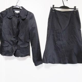 トゥービーシック(TO BE CHIC)のトゥービーシック スカートスーツ 40 M 黒(スーツ)