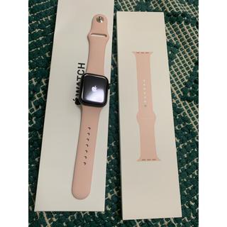 アップルウォッチ(Apple Watch)のアップルウォッチse   40ミリGPSモデル(その他)