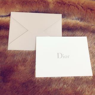 ディオール(Dior)のディオール メッセージカード(カード/レター/ラッピング)
