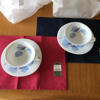 コウランシャ(香蘭社)の新品未使用 ティーカップセット(グラス/カップ)