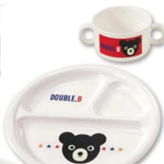 DOUBLE.B - 【ミキハウス(ダブルビー)】離乳食食器