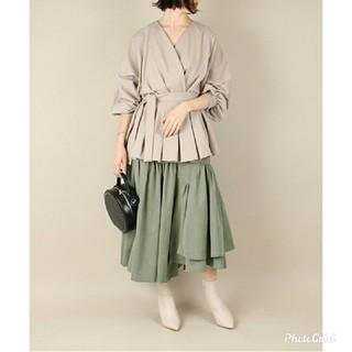 ランダ(RANDA)の新品タグ付き アシンメトリーデザインスカート(ロングスカート)