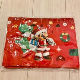 ニンテンドウ(任天堂)のスーパーマリオタオル クリスマス(キャラクターグッズ)