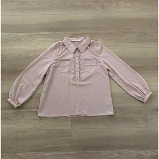 ルカ(LUCA)のルカ/レディラックルカ 丸襟ブラウス ピンク シフォン(シャツ/ブラウス(長袖/七分))