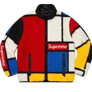 シュプリーム(Supreme)のReversible Colorblocked Fleece Jacket L(ブルゾン)