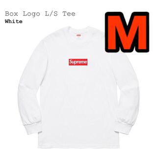 Supreme - 2020AW Supreme Box Logo L/S Tee White M
