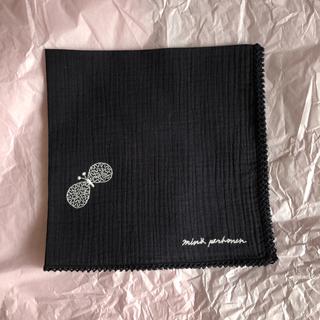 mina perhonen - ミナペルホネン 新品未使用タグ付き ハンカチ choucho 蝶々刺繍