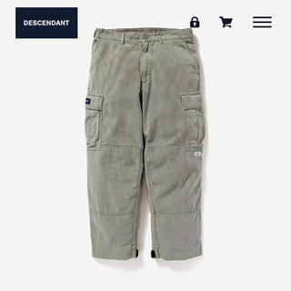 W)taps - DESCENDANT DWU TWILL TROUSERS ディセンダント