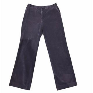 ラルフローレン(Ralph Lauren)の80's Unknown 太畝コーデュロイパンツ グレー W88cm L83cw(ワークパンツ/カーゴパンツ)