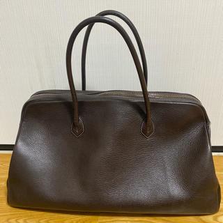 BARNEYS NEW YORK - ciseiシセイのブラウンボストンバッグ 使い込んでます