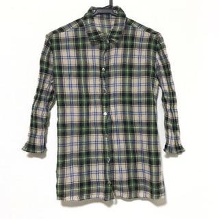 ツモリチサト(TSUMORI CHISATO)のツモリチサト 七分袖シャツブラウス 2 M(シャツ/ブラウス(長袖/七分))