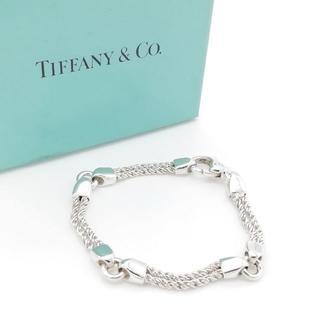 Tiffany & Co. - 希少 美品 ヴィンテージ ティファニー ダブル ロープ ブレスレット OM5