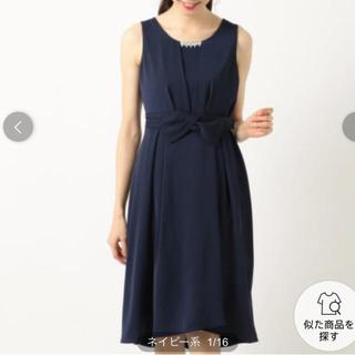 フェルゥ(Feroux)の定価1万6000円 Feroux (フェルゥ )ワンピース・ドレス (ひざ丈ワンピース)