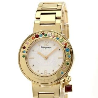 フェラガモ(Ferragamo)のブルーブリーズ様専用新品フェラガモスパークリングクォーツ(腕時計)