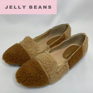 ジェリービーンズ(JELLY BEANS)のジェリービーンズ フラットシューズ 23cm(スリッポン/モカシン)