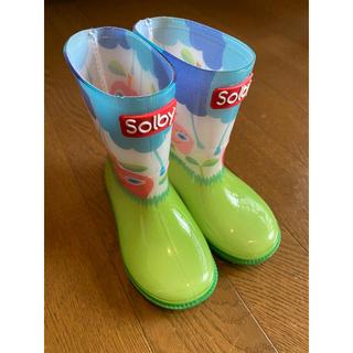 Solby - レインブーツ 14cm 長靴