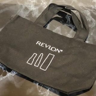 Revlon レブロン ノベルティ トートバッグ 黒