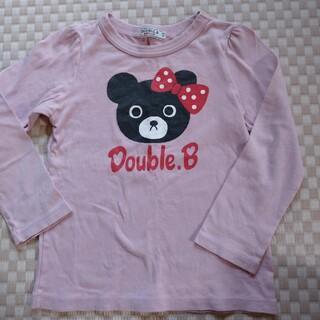 DOUBLE.B - ダブルビー ロングTシャツ 110