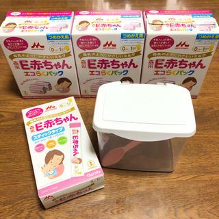 森永乳業 - 森永 E赤ちゃん エコらくパック つめかえ用 2箱セット