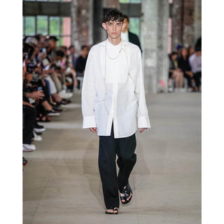 Jil Sander - JIL SANDER 20ss コレクションピース スクエアカラーシャツ