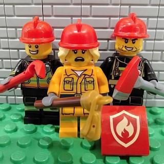 Lego - レゴ ミニフィグ 消防隊