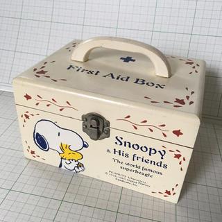 SNOOPY - スヌーピー 救急箱☆ファーストエイドボックス☆ビンテージ ヴィンテージ