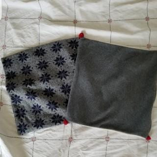 ミナペルホネン(mina perhonen)のクッションカバー/ノルディック柄2枚セット(クッションカバー)