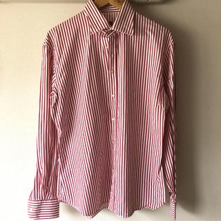 イセタン(伊勢丹)のEral55 ミラノストライプシャツ 👑(シャツ)